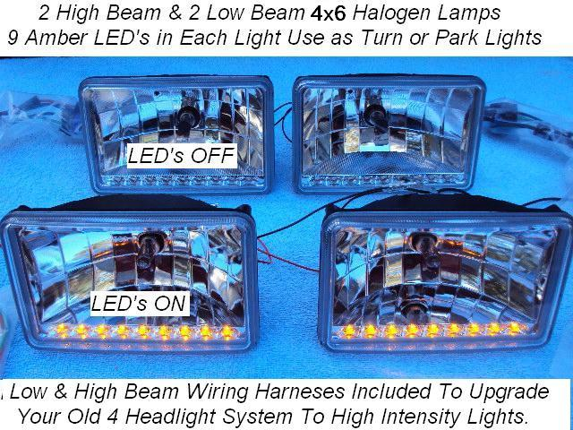 High Intensity Halogen Headlights Lifetime Led Warranty