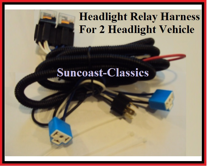 oem h4 headlight relay wiring harness system 4 headl light bulb h4 headlight connector wiring diagram h4 headlight relay wiring harness 2 head lamp systems fix ... #8