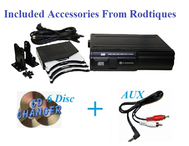 Ford Thunderbird Radio 6 Disc CD Changer USB Stereo 630 Tbird